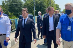 Volodymyr Zelensky personally got acquainted with the situation along the occupation line