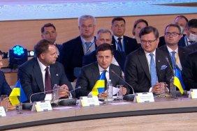 ვლადიმერ ზელენსკი -  ჩვენ გვჭირდება საერთაშორისო მხარდაჭერა უკრაინული ნახევარკუნძულის დეოკუპაციის საკითხში
