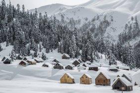 Roads to Gomis Mta, Bakhmaro resorts closed due to heavy snow