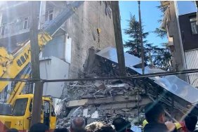 10-15 individuals under rubbles of a collapsed residential building in Batumi