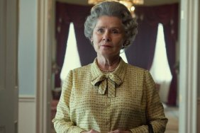 Imelda Staunton pictured as Queen in Netflix's The Crown for first time