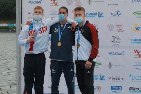 Georgian canoeist Aleksandre Tsivtsivadze wins World junior championship