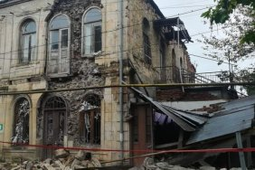 House belonging to cultural heritage explodes in Kutaisi